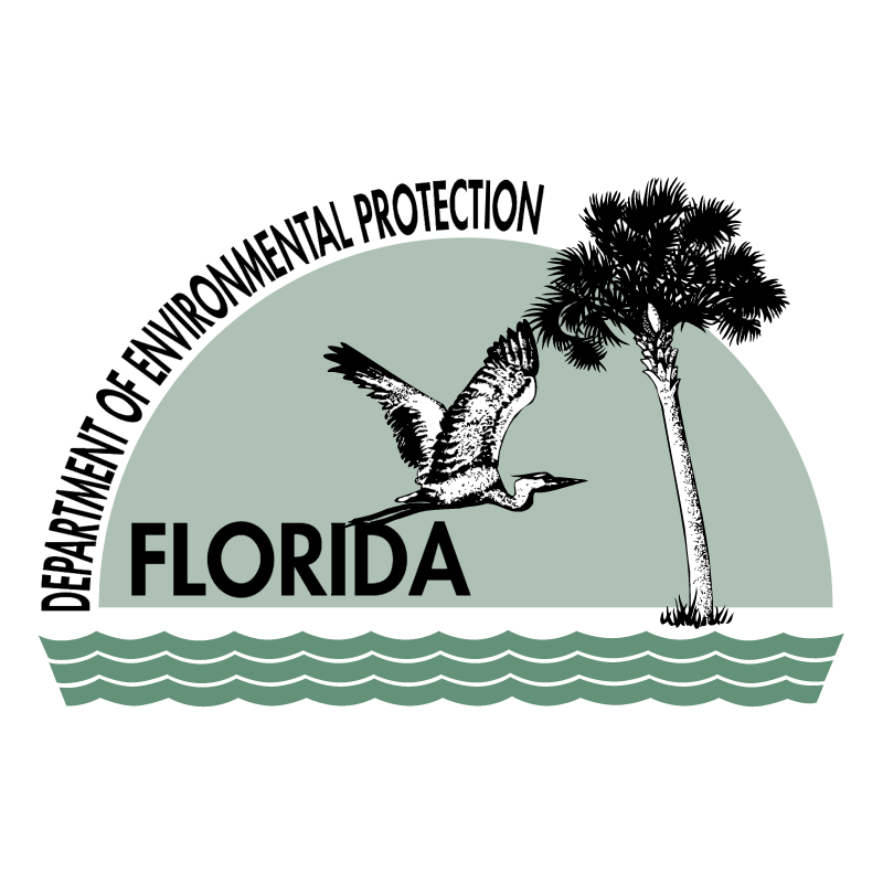 Florida Department of Environmental Protection vector logo