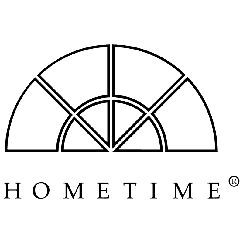 Hometime vector logo