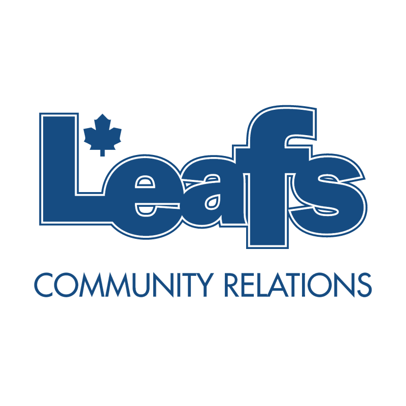 Leafs Community Relations vector
