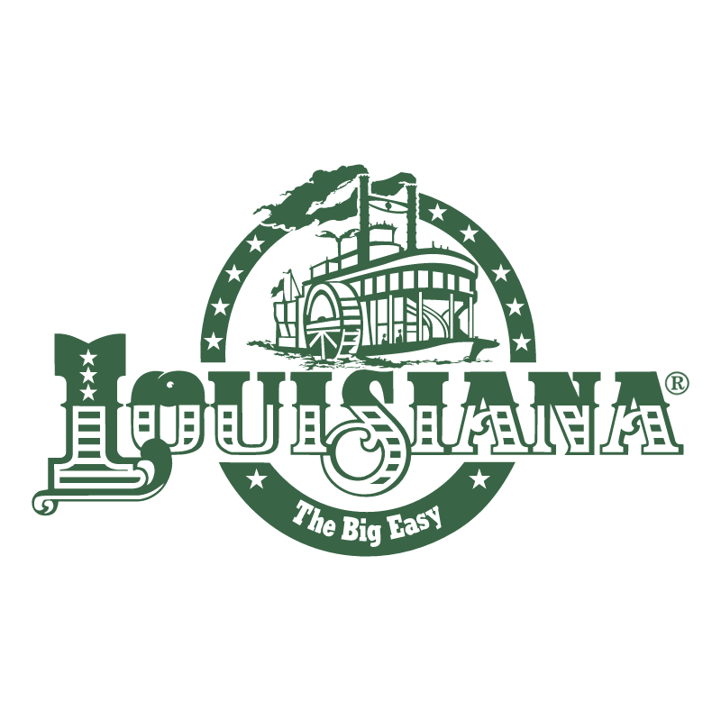 Louisiana vector logo