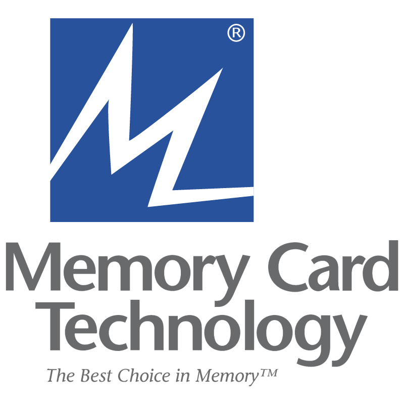 Memory Card Technology vector logo