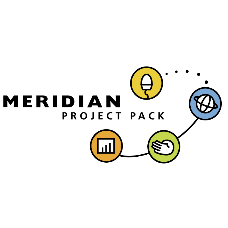 Meridian Project Pack vector