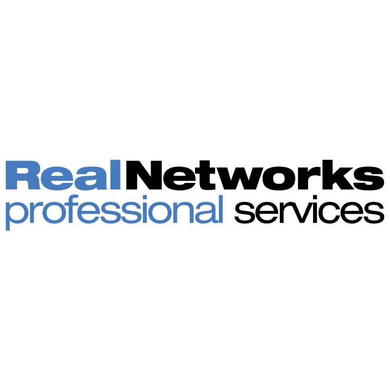 RealNetworks Professional Services vector