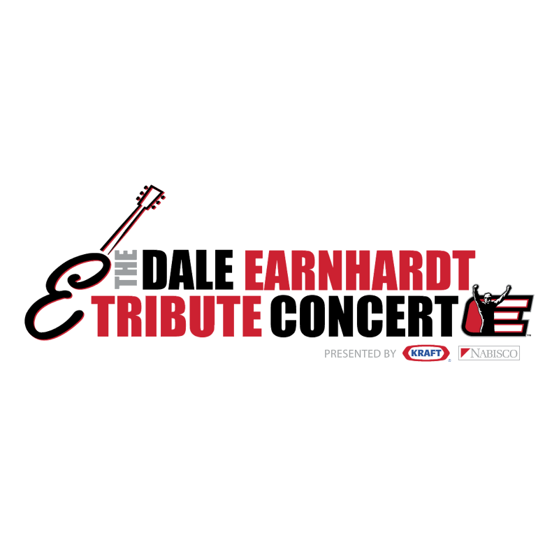 The Dale Earnhardt Tribute Concert vector logo