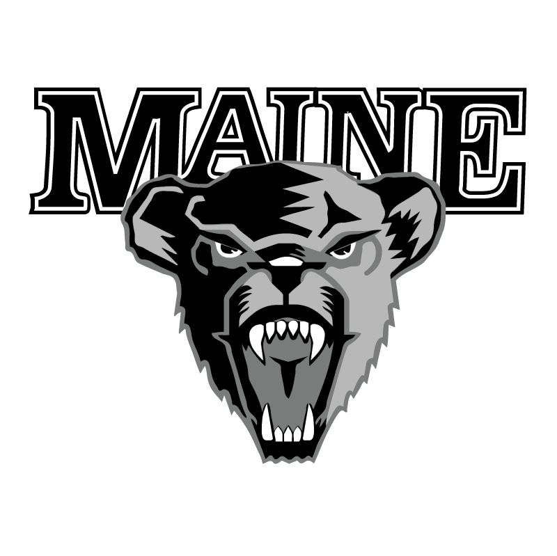 University of Maine Hockey vector