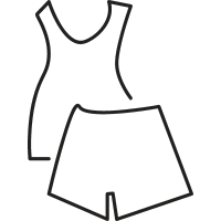 Women Summer Pijama vector