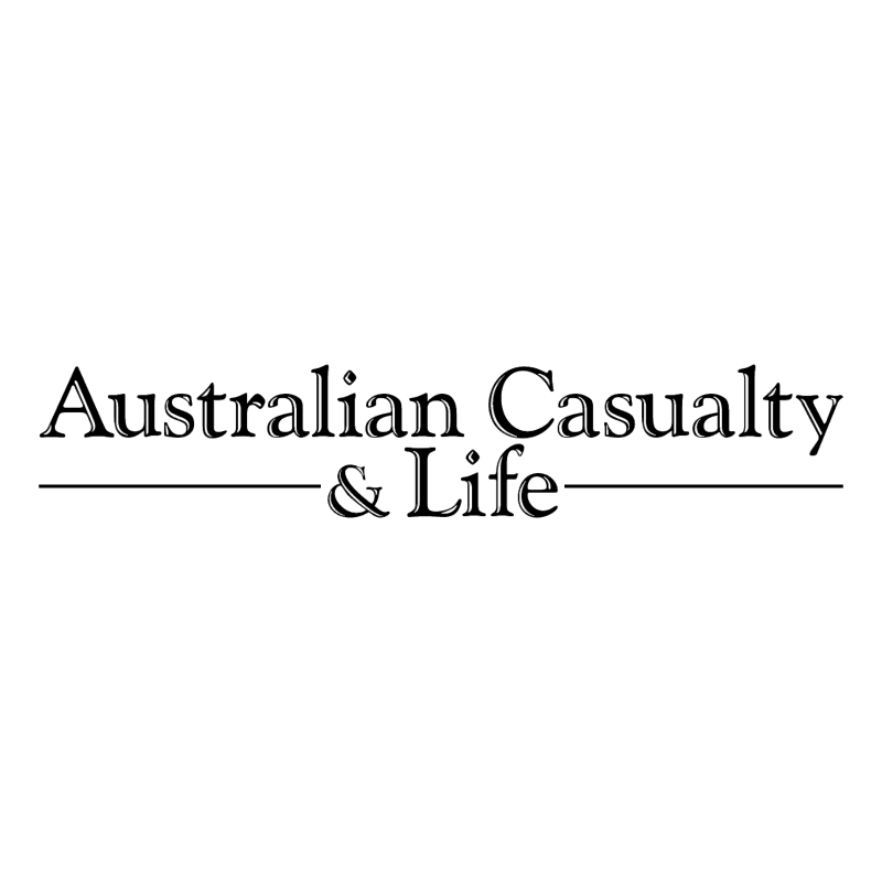 Australian Casualty & Life 60384 vector