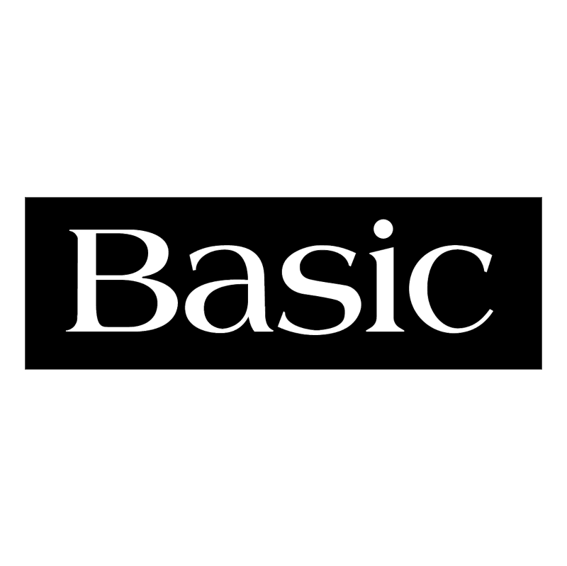 Basic vector logo