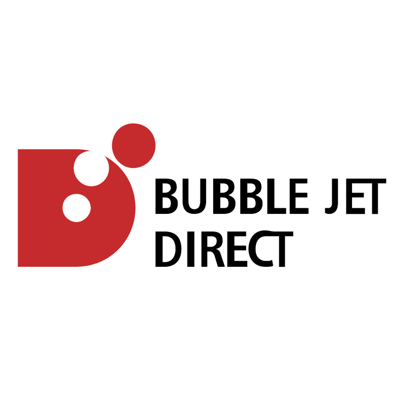 Bubble Jet Direct 62568 vector