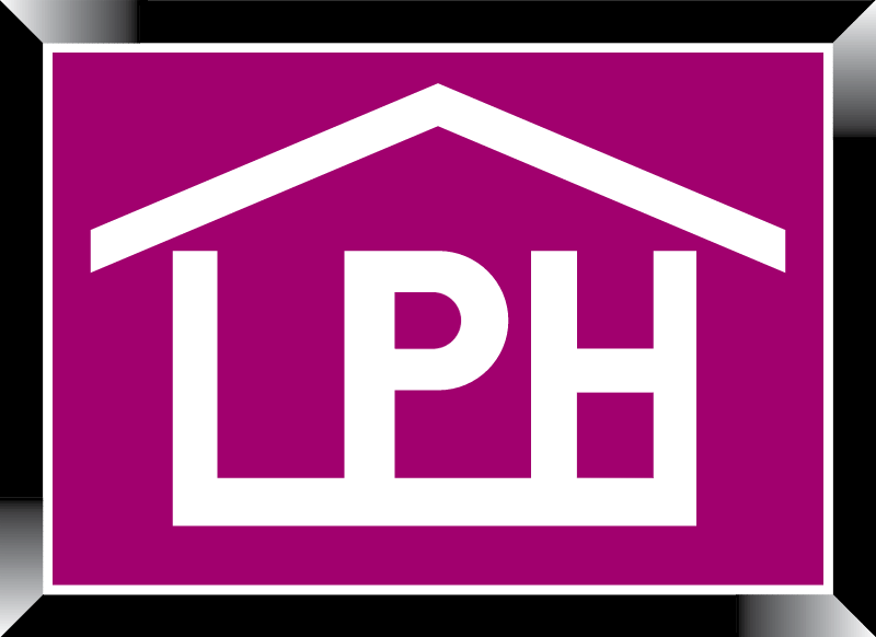 Construction LPH logo vector