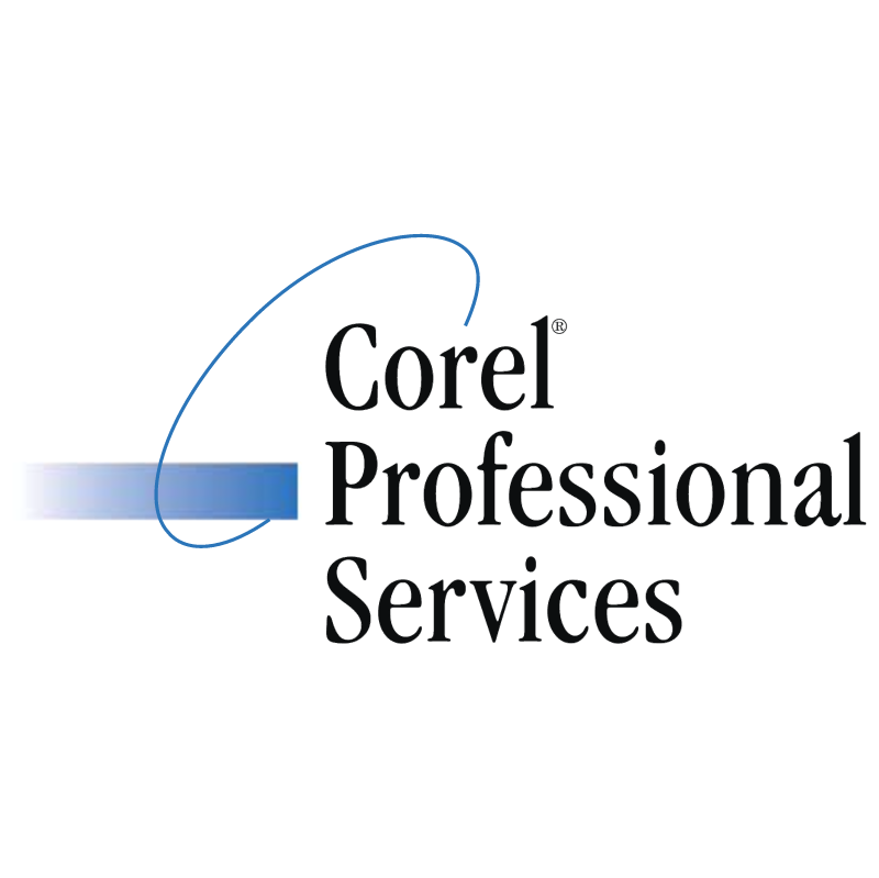 Corel Professional Services vector