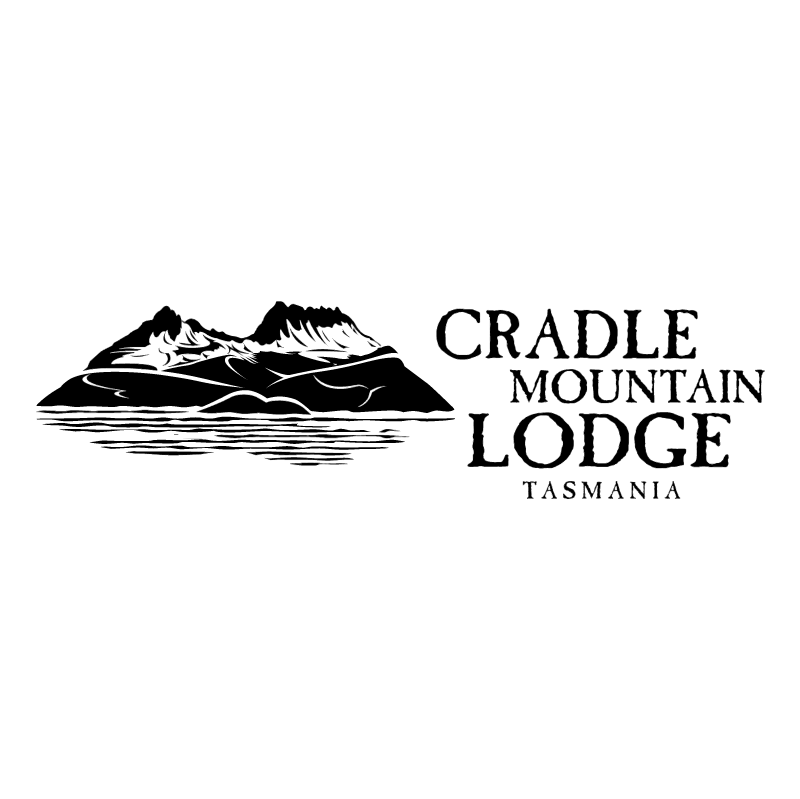Cradle Mountain Lodge vector logo