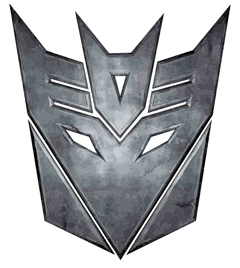 Decepticon from Transformers vector logo