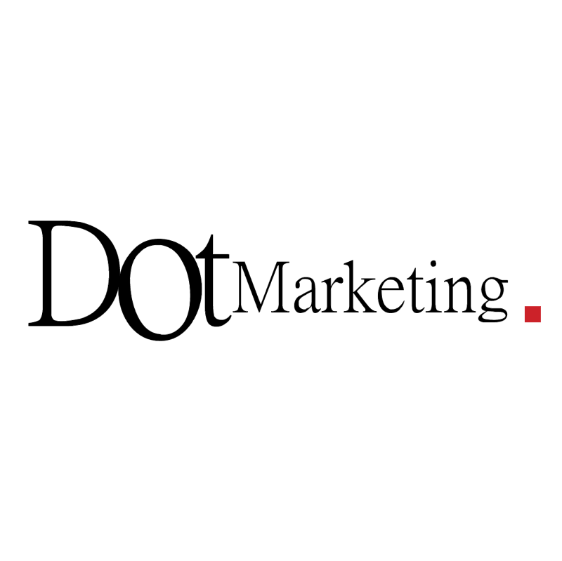 Dot Marketing vector