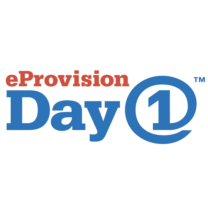 eProvision Day One vector logo