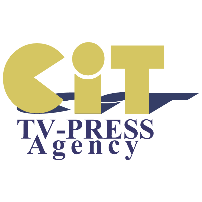 GIT TV Press Agency vector logo