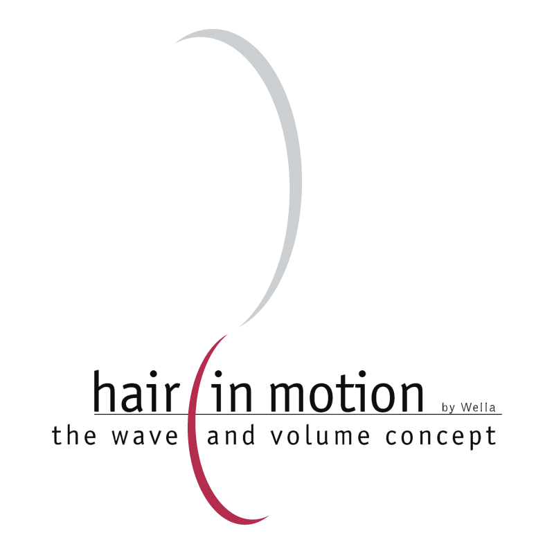 Hair In Motion vector
