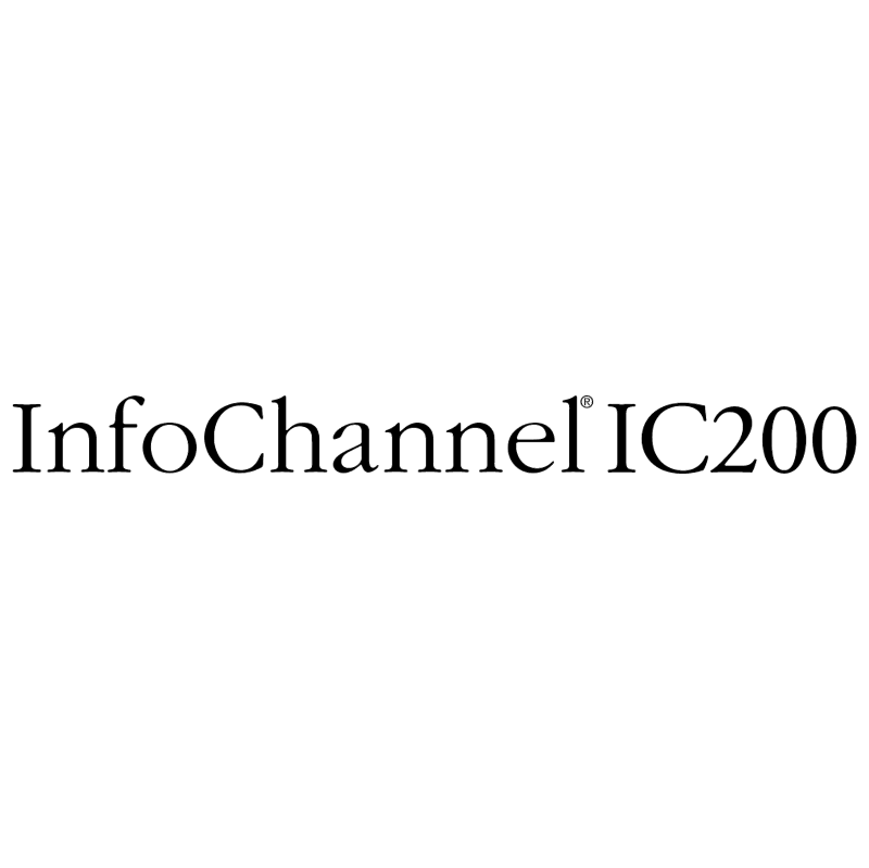 InfoChannel IC200 vector logo