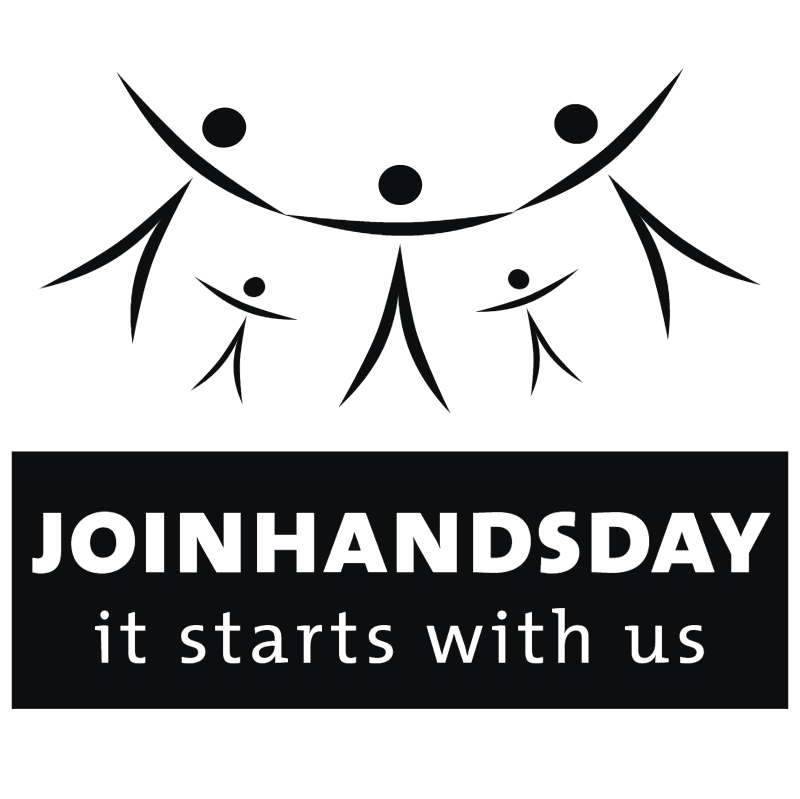 Join Hands Day vector