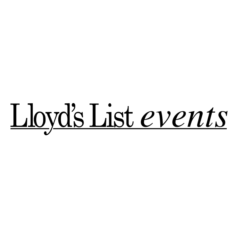Lloyd's List events vector