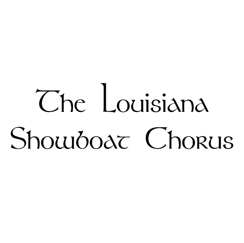 Louisiana Showboat Chorus vector logo