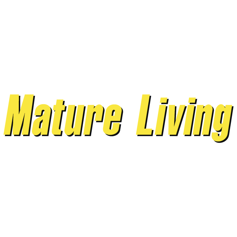 Mature Living vector