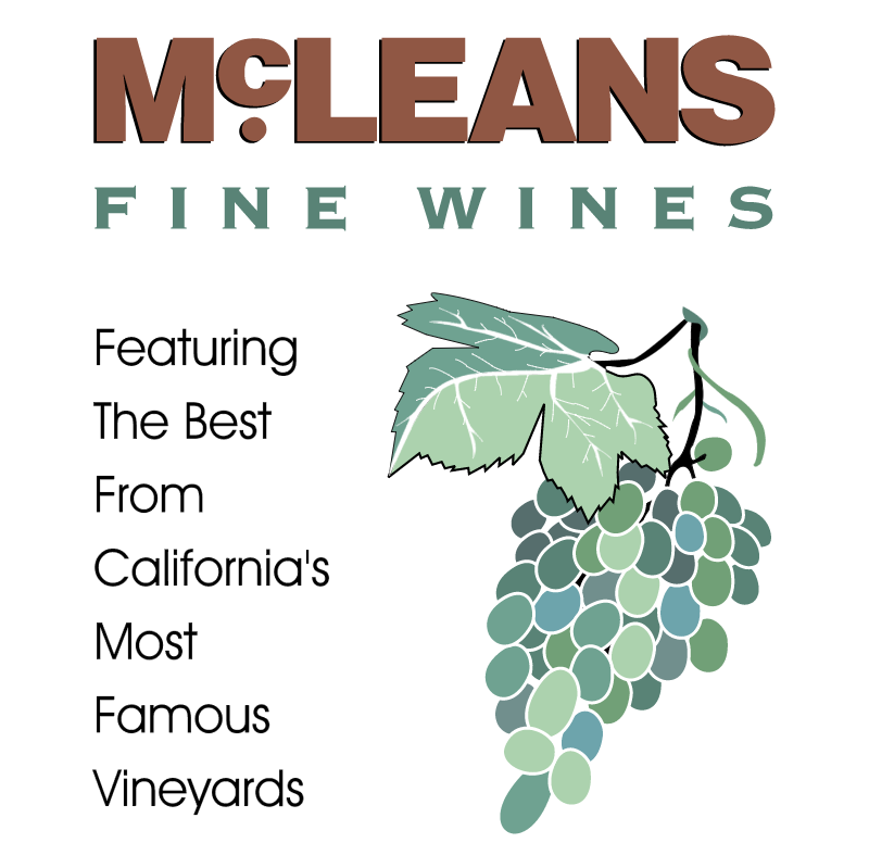 McLeans Fine Wines vector logo