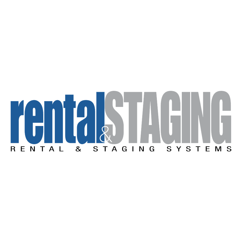 Rental & Staging Systems vector logo