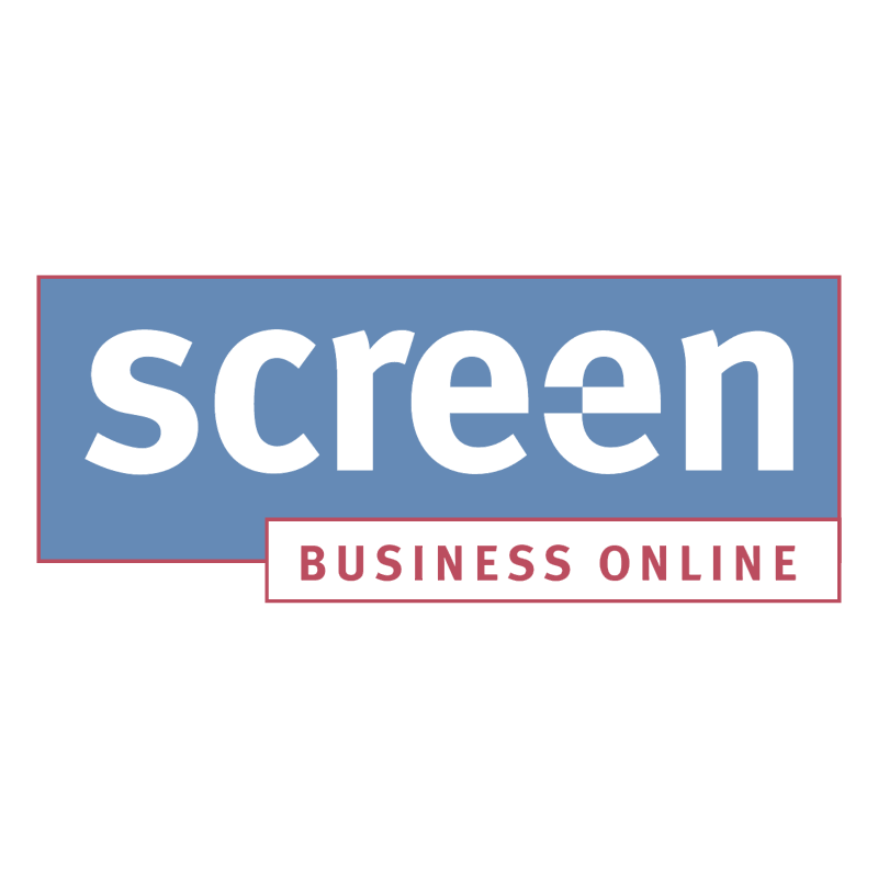 Screen Business Online vector