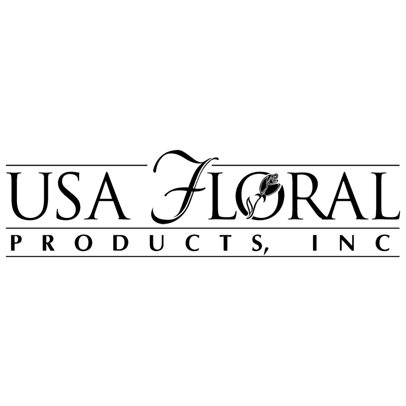 USA Floral Products vector logo