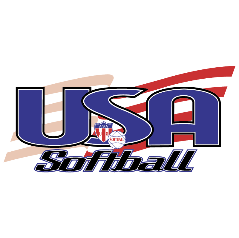 USA Softball vector