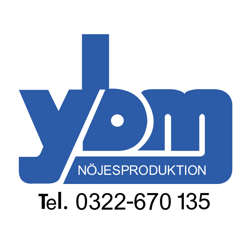 YBM Event Marketing vector logo
