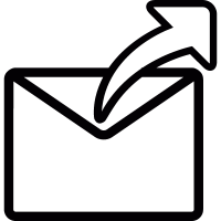 Answer email symbol vector