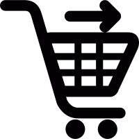 Send shopping cart vector