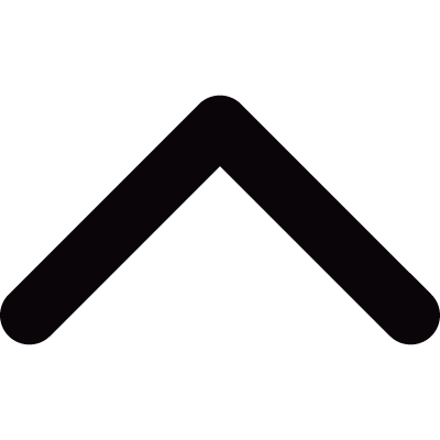 Small ascending thin arrow vector logo