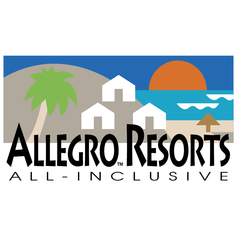 Allegro Resorts vector