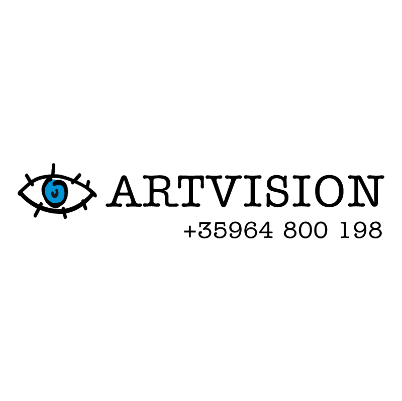 ARTVISION advertising 73379 vector logo