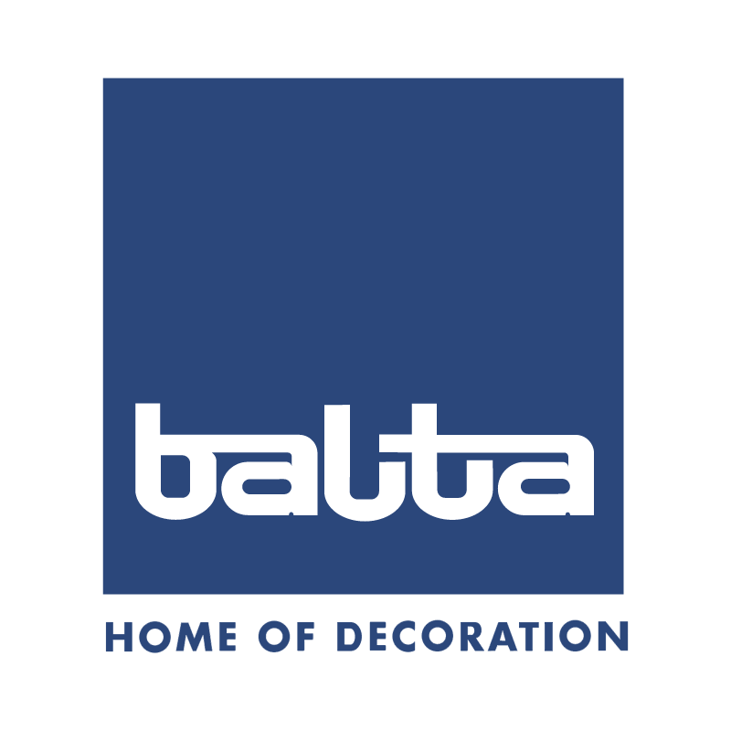 Balta home of decoration vector