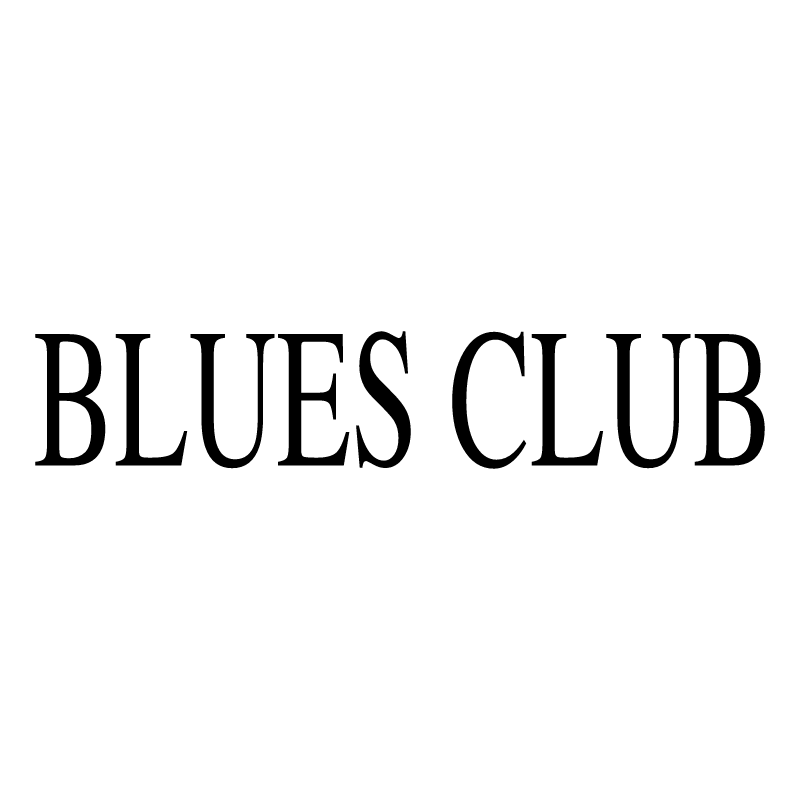 Blues Club vector logo