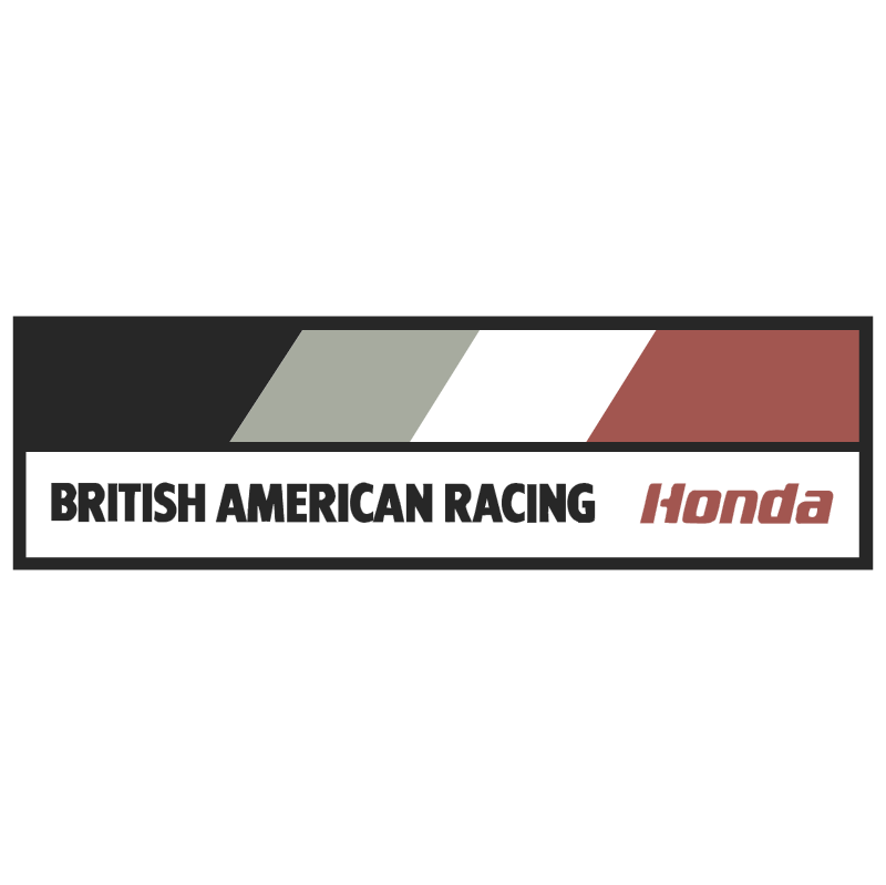 British American Racing vector