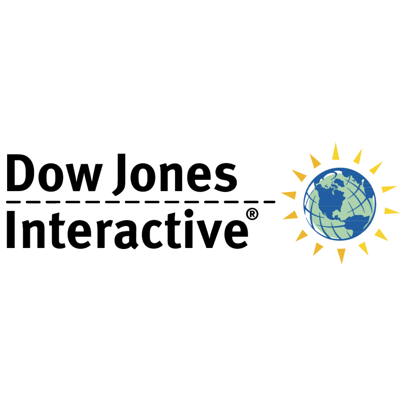 Dow Jones Interactive vector