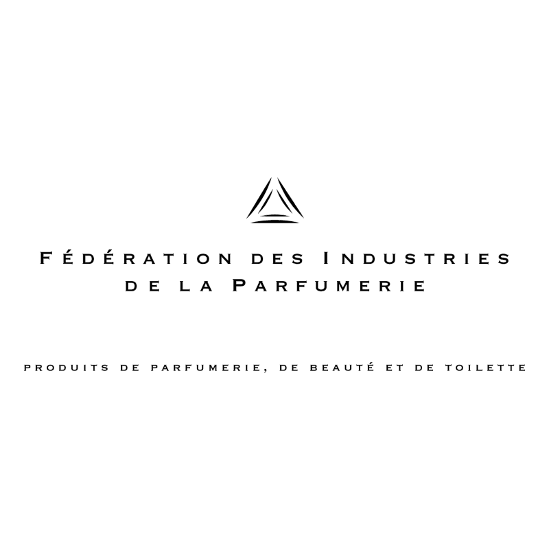 Federation des Industries de la Parfumerie vector