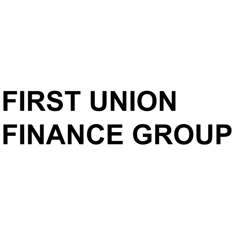 First Union Finance Group vector