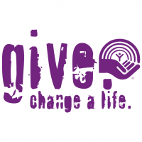 Give Change a Life vector