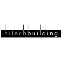 Hitech Building vector