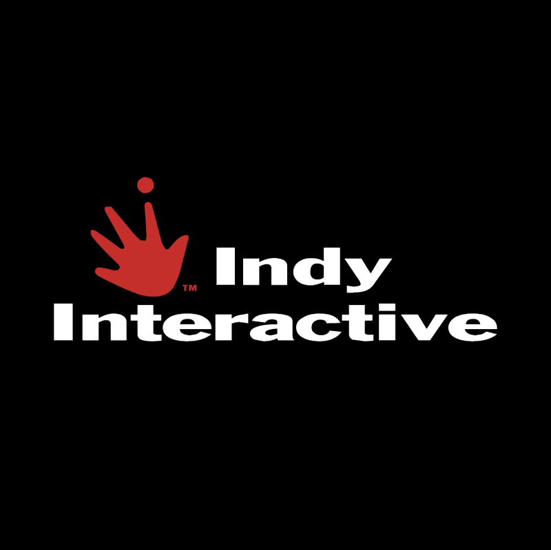 Indy Interactive vector logo