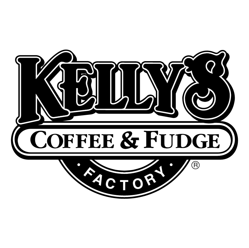 Kelly's Coffee & Fudge Factory vector
