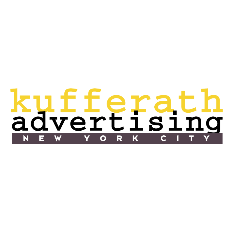 Kufferath Advertising vector