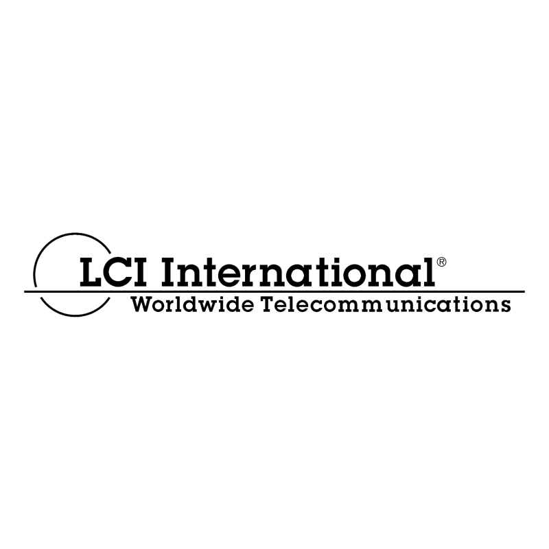 LCI International vector logo