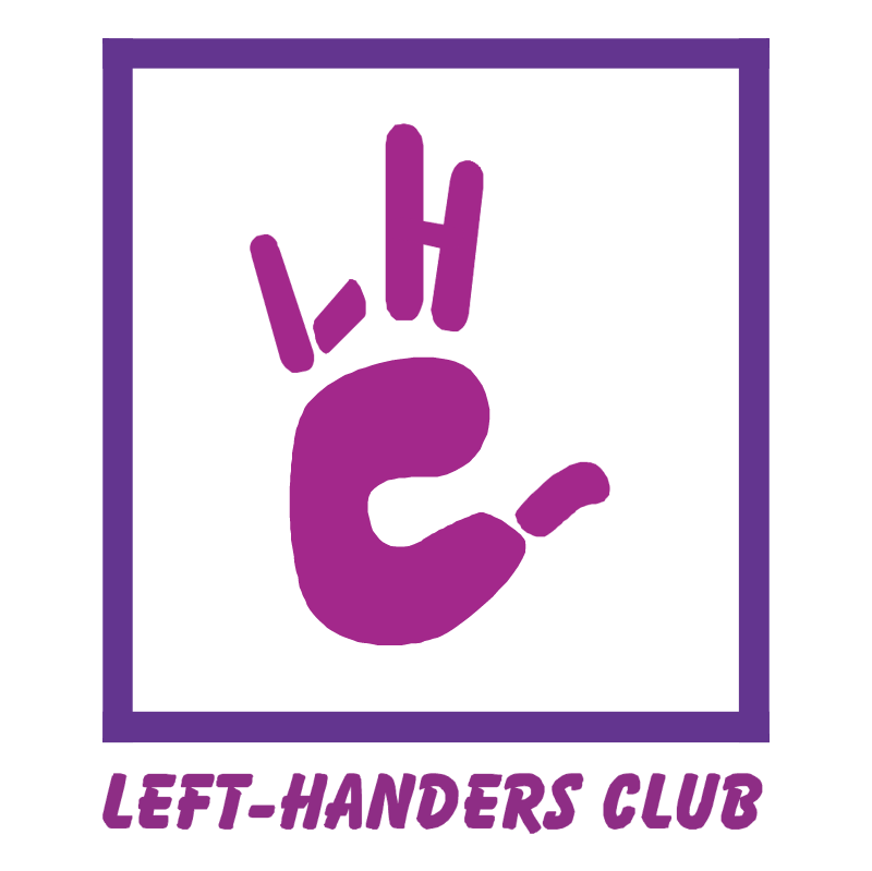 Left Handers Club vector